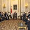 رئيس الوزراء يناقش مع ممثلي شركة « بومبارديه » الكندية مشروع قطار القاهرة - 6 أكتوبر
