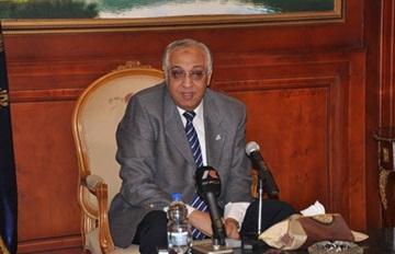 الواء محمد إبراهيم وزير الداخلية