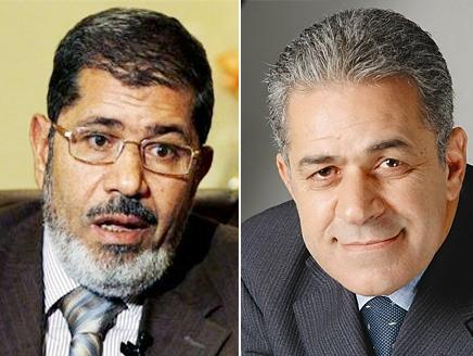 حمدين صباحي و محمد مرسي