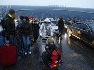 مطار دوموديدوفو الذي استهدفه الهجوم