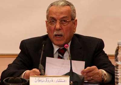 المستشار فاروق سلطان رئيس اللجنة العليا لانتخابات الرئاسة