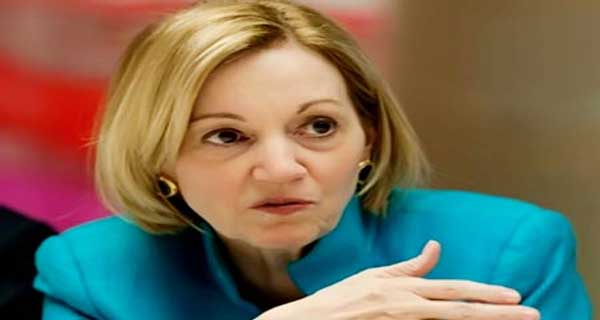السفيرة الأمريكية بالقاهرة ان باترسون