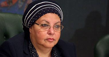 وزيرة القوى العاملة عائشة عبد الهادى