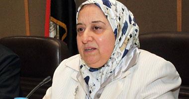 الدكتورة نجوى خليل وزيرة التأمينات والشئون الاجتماعية